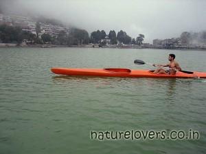 Naini lake at Nainital